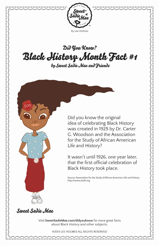 Black History Month Fact
