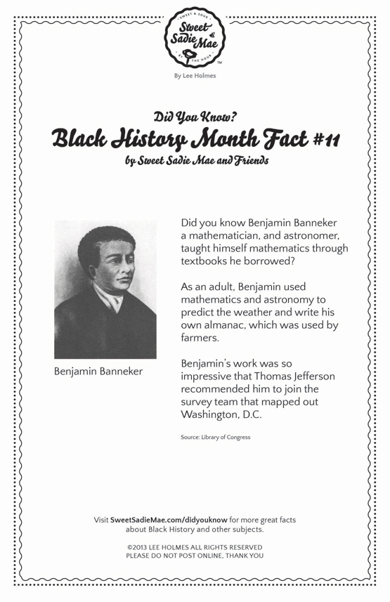 Mathematician and Astronomer Benjamin Banneke: Black History Month Fact 11