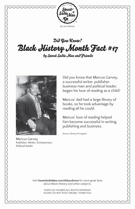 Marcus Garvey: Writer, Publisher: Black History Fact