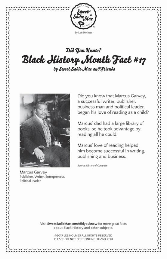 Marcus Garvey: Writer, Publisher: Black History Fact